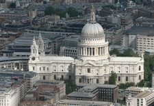 An Aerial View Of St Paul's