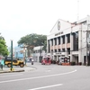 Street Scene With Legazpi City Hall