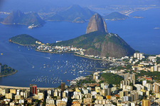 Sugarloaf View From Cristo Redentor