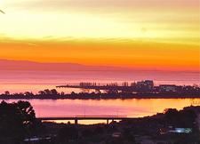 Sunrise - Looking East Over SanFran Bay