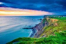 Sunset In Bude - Cornwall UK