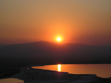 Sunsets In Pamukkale