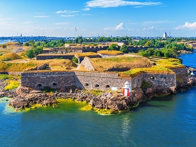 Suomenlinna Sea Fortress In Helsinki