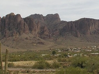 Superstition Mountain Peak