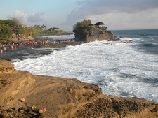 Surf Engulfed Tanah Lot - Bali