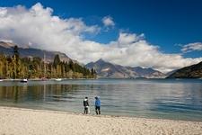 Surrounding Landscape From Queenstown - Otago NZ