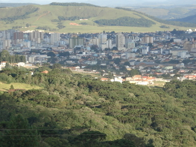 Skyline Of Downtown Lages