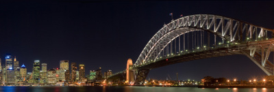 Panorama From Kirribilli With The Jeffrey Street Wharf Visible A