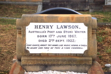 Grave Of Henry Lawson