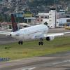 TACA Airbus A320 Landing At Toncontín