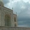 Taj Mahal Dome And Minaret