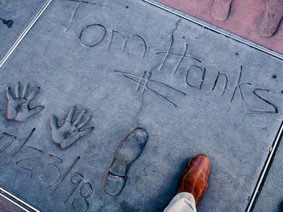 TCL Chinese Theatre Footprints