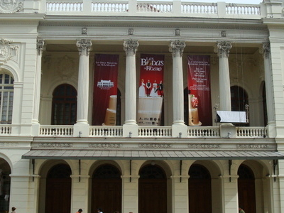 The Municipal Theatre Of Santiago