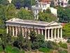 Temple Of Hephaistos In Greece