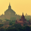 Temples In Bagan - Sunset View
