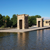 Templo De Debod In Madrid
