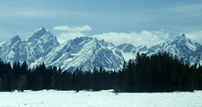 Tetons During Winter