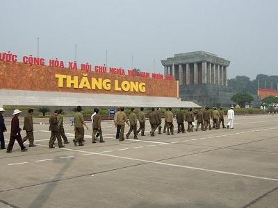 Thang Long / Ho-Chi-Minh-Mausoleum