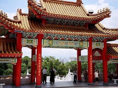 Thean Hou Temple In Kuala Lumpur