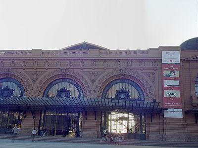 The Centro Cultural Estación Mapocho
