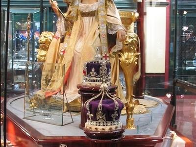 The Figure Of Queen Victoria