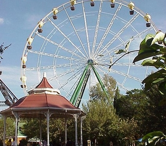 The Giant Wheel At Gold Reef City