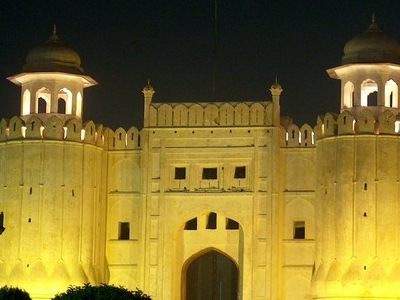 Lahore Fort At Night-time