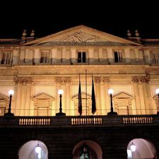 The La Scala Theatre In Milan