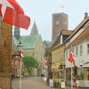 The Main Street Of Ribe