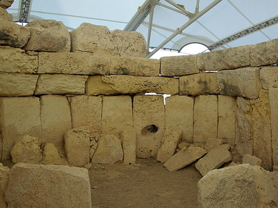 The Megalithic Structure's Interior