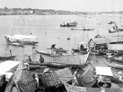 The Musi River By Palembang