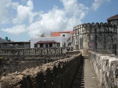 The Old Castle In Zanzibar