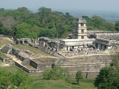 The Palace Ruins Of Palenque