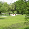 The park of Forgách-Castle