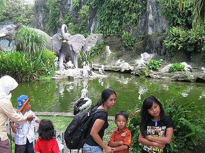 The Ragunan Zoo Is A Popular Weekend Destination