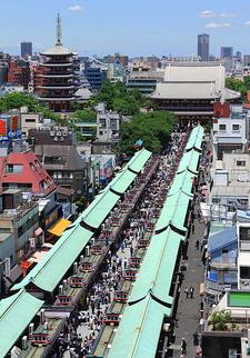 The Temple Ground Of Sensō-ji