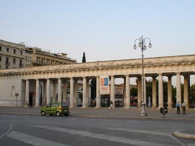 The Villa Comunale In Foggia