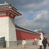Three Pagodas Entrance