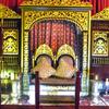 Throne Of Sultan Mahmud Baharuddin II .