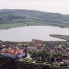 Tihany From Birdview With Bels T Inner Lake In The Centre And La