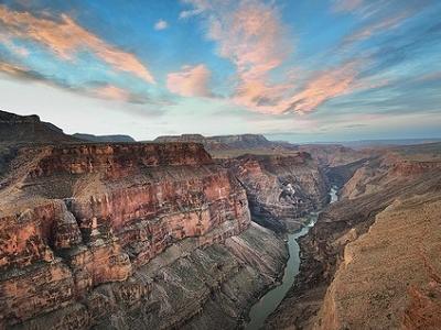 Toroweap Sunrise In Grand Canyon NP