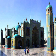 Hazrat Ali In Mazar-e Sharif In Afghanistan