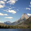 Towards Kintla Glacier Montana USA