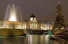 Trafalgar Square - Christmas Carols