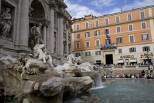 Trevi Fountain - Rome - Side View