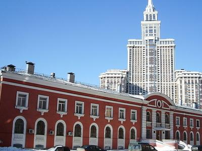 Triumph Palace, Viewed From Viktorenko Street