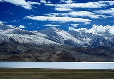 Tso Moriri With Wetlands & Mountains - Ladakh J&K