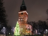 Turku Cathedral Square - Night View