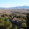 Tuscany Landscape Seen From Pienza