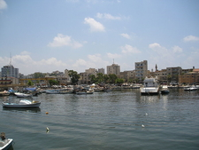Tyre Fishing Harbour